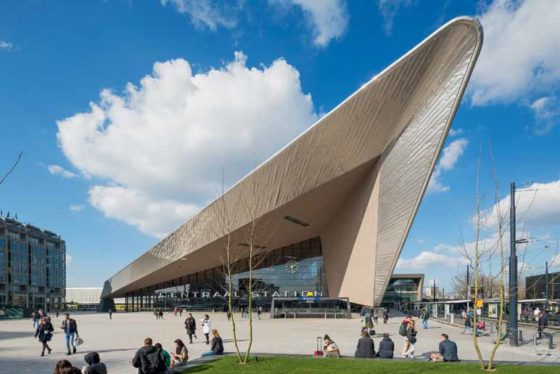 Centraal Station Rotterdam, Deel 1
