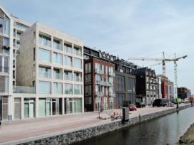 Blok 0 in de Houthavens, Amsterdam, door Atelier PUUUR