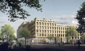 Kopgebouw Antoni in Delft