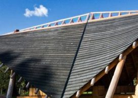 Blog – Ontvangstpaviljoen met Nederlands hout