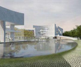 Render Ster van de Week – Shanghai Cultureel Complex door Steven Holl
