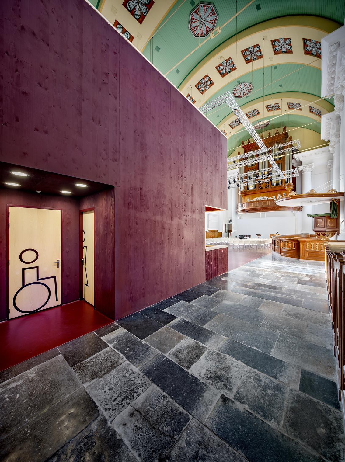 <p>Herinrichting van de Nieuwe Kerk in Zierikzee door Group A</p>