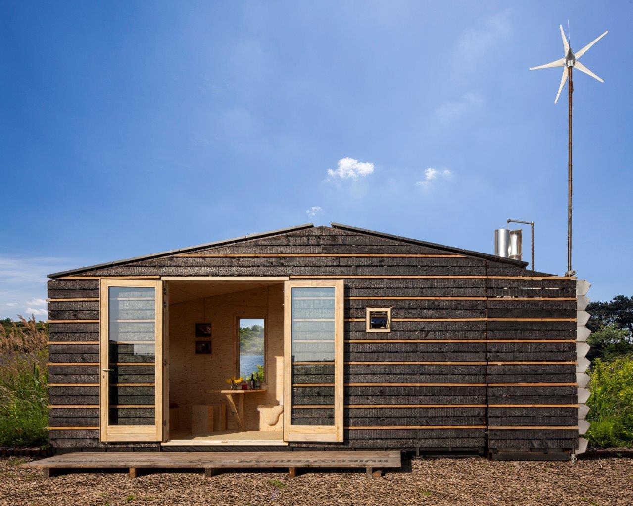 <p>Tiny Tim van Faro Architecen is een voorbeeld van een Tiny House</p>