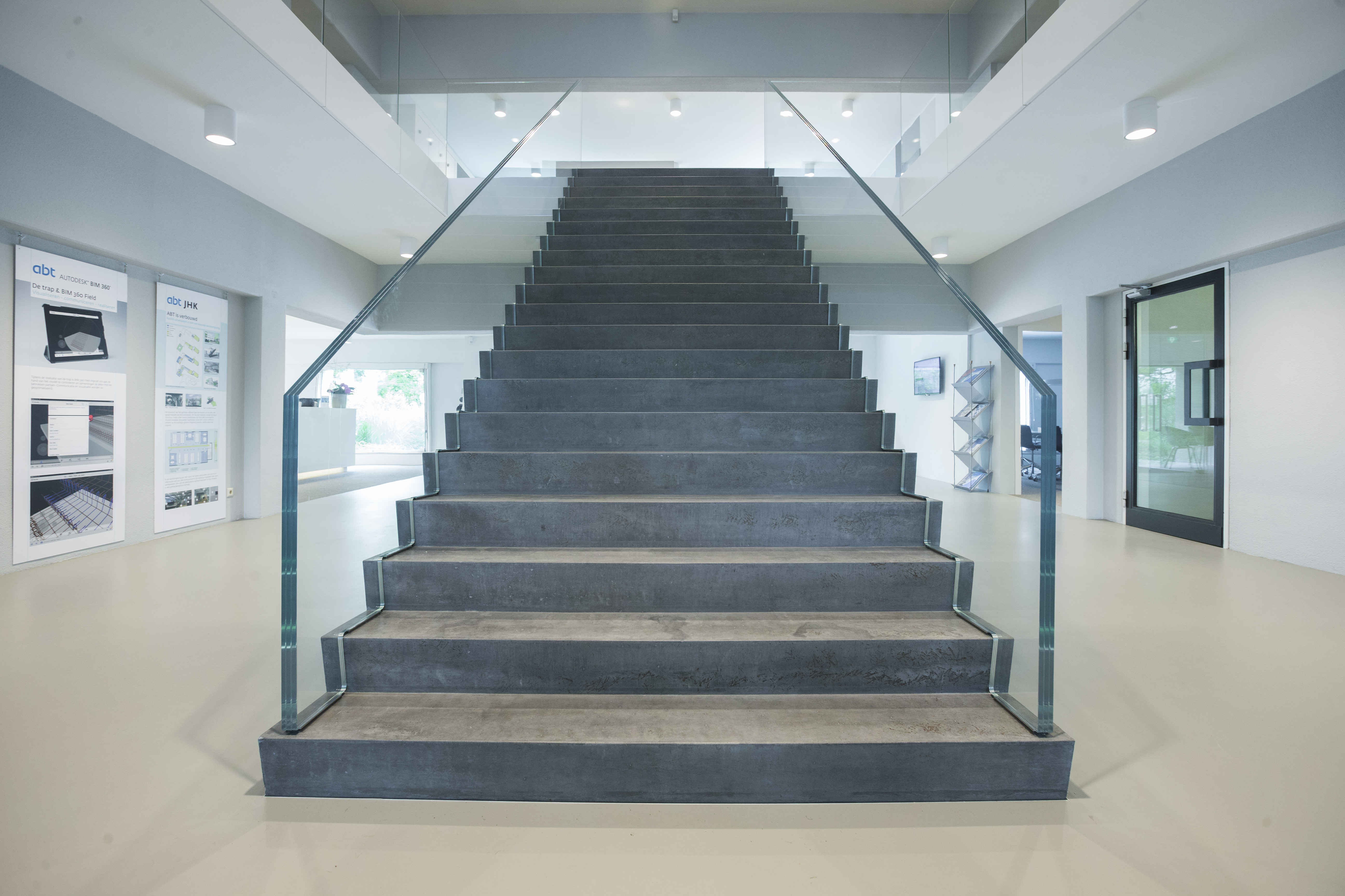 Arc16: ultraslanke hybride trap u2013 jhk architecten de architect