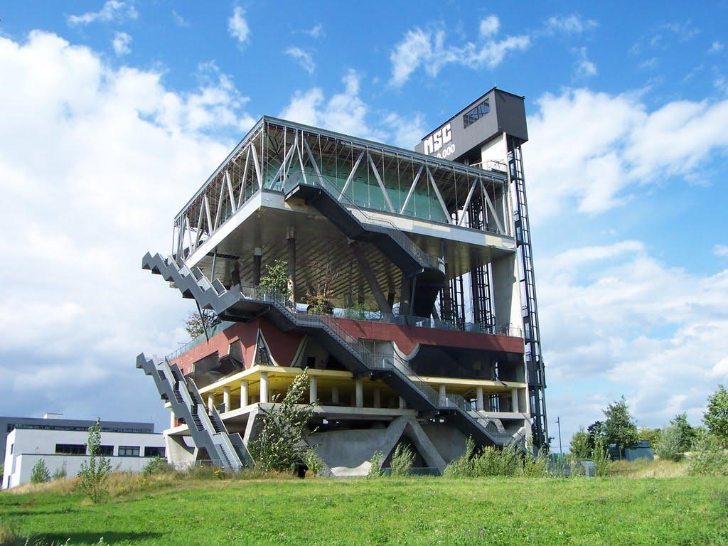 Hannover World Expo 2000 Nederlands Paviljoen MVRDV Opinie Harm Tilman