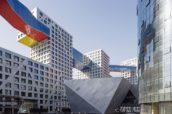 Linked Hybrid in Beijing door Steven Holl Architects