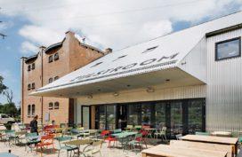 Restaurant en kookstudio Zijlstroom in Leiderdorp door Kingma Roorda architecten en Marian de Bock