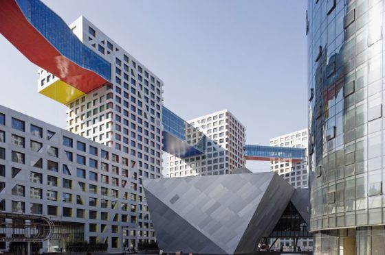 Linked Hybrid in Beijing door Steven Holl Architects