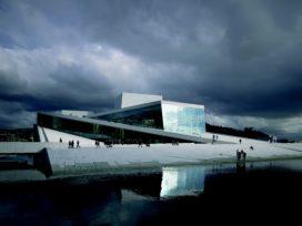 Operahouse in Bjørvika, Oslo, door Snøhetta