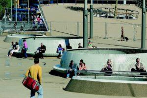 Fietsenstalling en stationsplein in Groningen door KCAP Architects and Planners