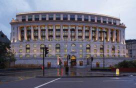 Hoofdkantoor Unilever in Londen door Kohn Pedersen Fox Associates