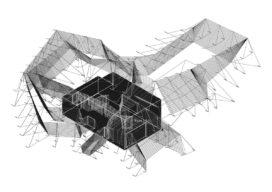 Spidernet huis in Nîmes door François Roche