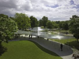 Serpentine Gallery Pavilion in Londen door SANAA