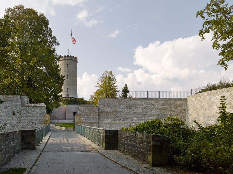 Bezoekerscentrum Sparrenburg door Dudler. Fotograaf Stefan Muller