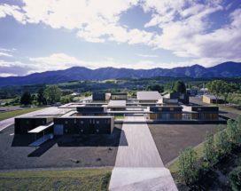 Opleidingscentrum voor blindengeleidehonden in Fujinomiya, Japan, door Chiba Manabu Architects