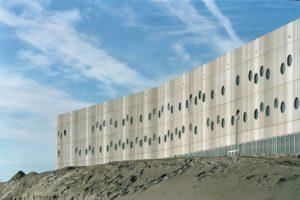 Euroborg stadion Groningen door Wiel Arets Architects