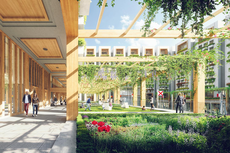 Waterwerk Amsterdam Neutelings Riedijk Architecten WAX Architectural Visualizations - Render Ster van de Week