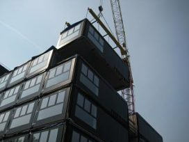 Acht bouwlagen koud gestapeld