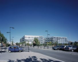 Universitair centrum voor bedrijfskunde in Bordeaux, Frankrijk, door Anne Lacaton en Jean-Philippe Vassal