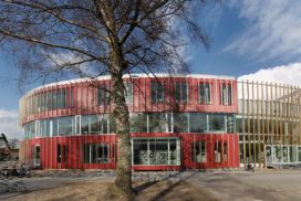 Carmel College in Oldenzaal door Broekbakema
