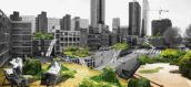 Plan Schieblok door ZUS in Rotterdam