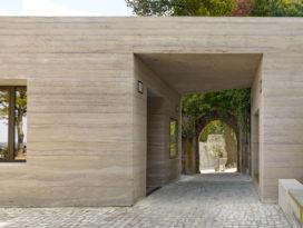Sparrenburg bezoekerscentrum in Bielefeld door Max Dudler