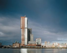 Woon- en kantoorgebouw Montevideo in Rotterdam door Mecanoo architecten