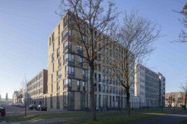 Combinatiegebouw Newton op Leerpark Dordrecht