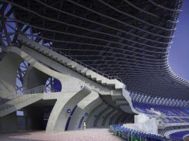 Hoofdstadion Wereldspelen 2009 in Kaohsiung, Taiwan door Toyo Ito