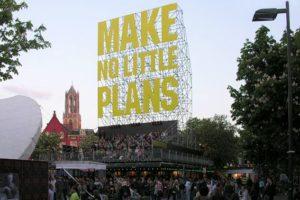 'Make No Little Plans' in Utrecht door Monadnock