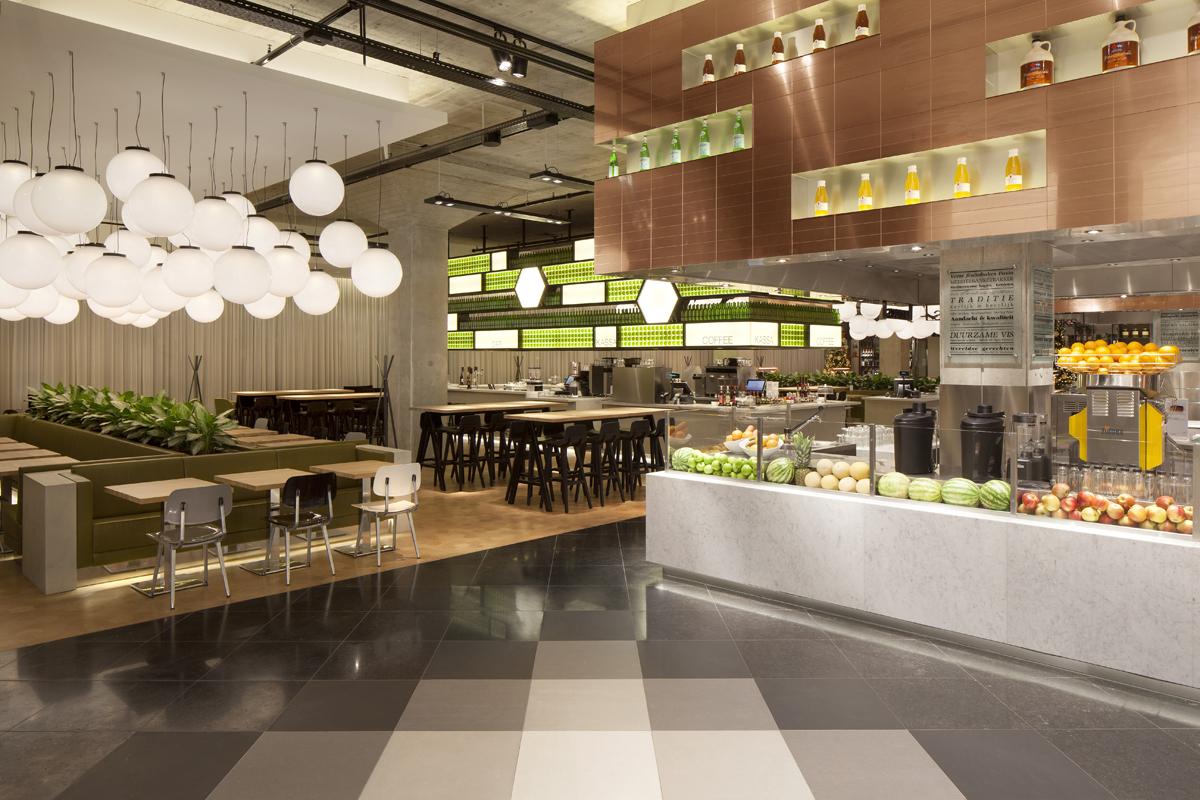 ARC Inzending: The Kitchen restaurant in de Bijenkorf Eindhoven door ...