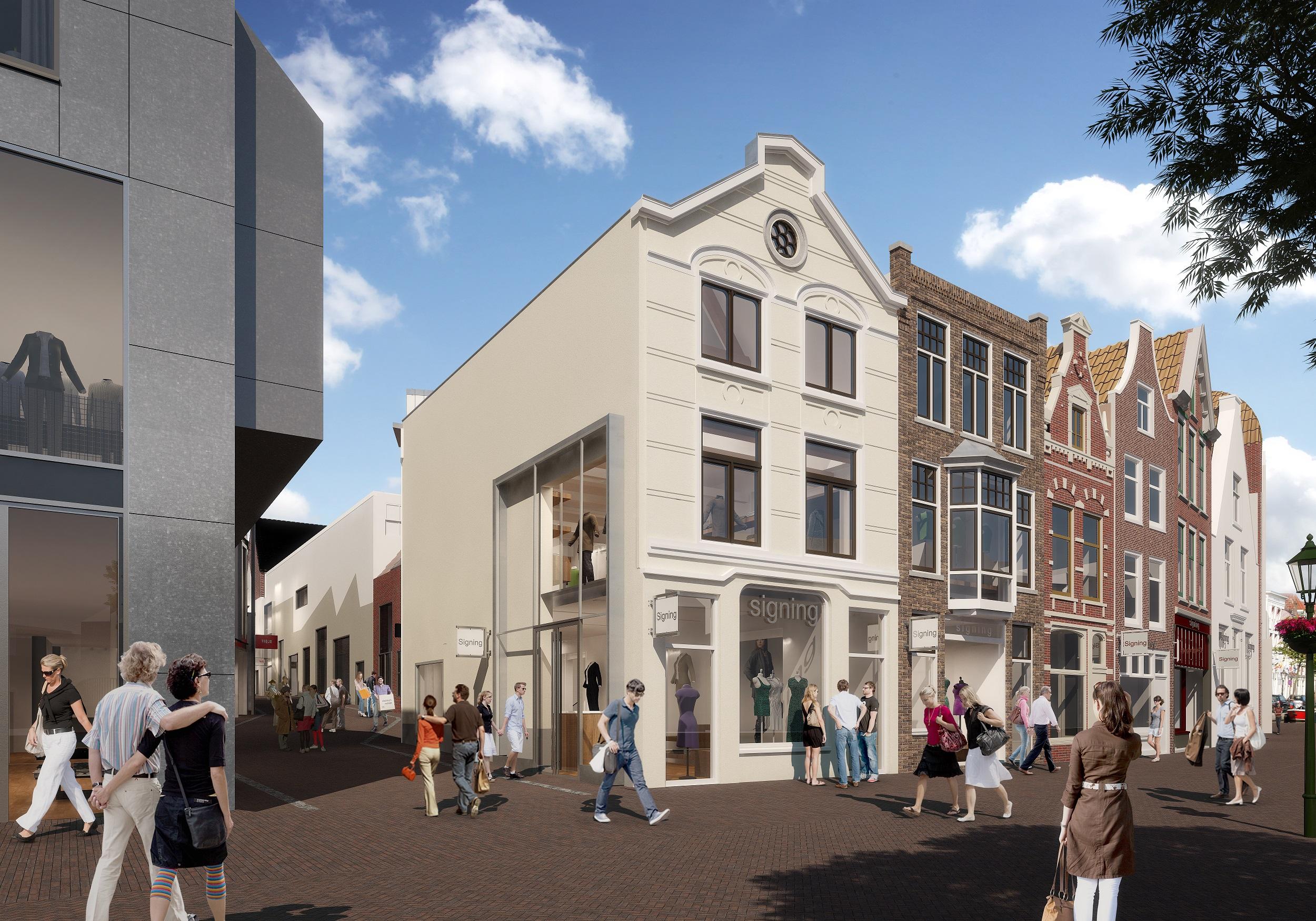 Aalmarkt Rijnboutt Leiden Transformatie