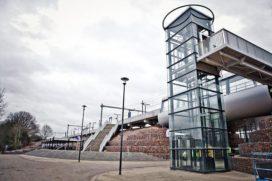 Treinstation krijgt machinekamerloze liften