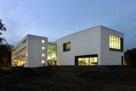 De staatsballetschool in Berlijn (D)