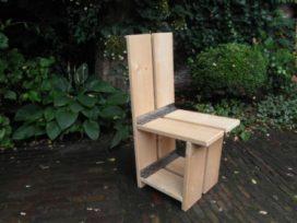 Steigerplank klapstoel