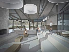 Bedaux de Brouwer tovert clubhuis om tot paviljoen