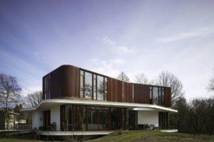 Villa in Wageningen door Mecanoo architecten