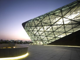Operagebouw in Guangzhou (China) door Zaha Hadid