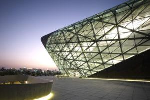 Operagebouw in Guangzhou (China) door Zaha Hadid