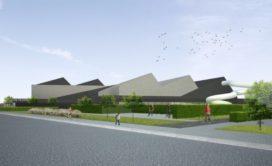 Sportcentrum De Pluimen in Diksmuide in de maak