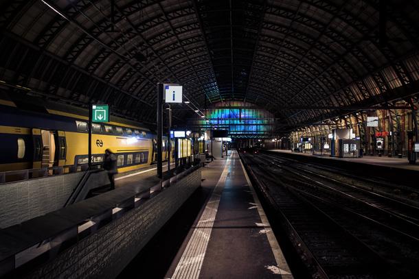 Amsterdam CS Daan Roosegaarde