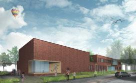 RoosRos ontwerpt brede school Amsterdam Geuzenveld