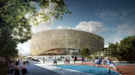 Winnend ontwerp Kopenhagen Arena door 3XN