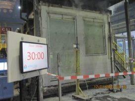 Brandwerend glas EW-classificatie te combineren met ventilatierooster