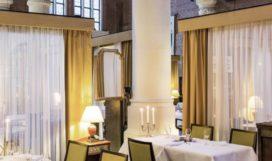 Tijdelijk interieur voor Amsterdams ster-restaurant door FreyH Studio en OJO