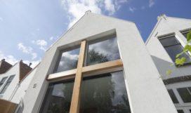 Uitgerekt huis in Rijswijk door Ruud Visser Architecten