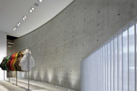 Showroom in Milaan door Tadao Ando