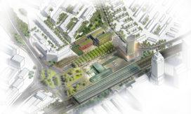 Herinrichting gebied Amstelstation van start