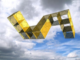 Vliegende structuren