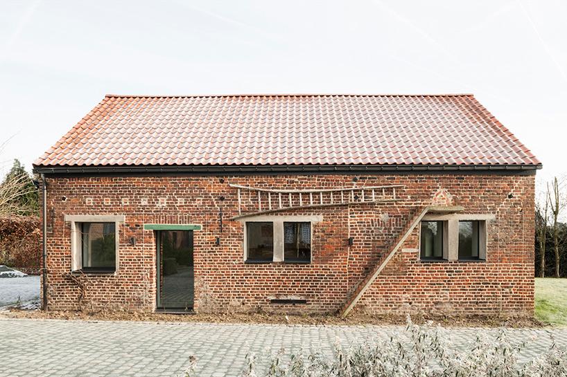 Apers Box in een Bos systeem Vlaanderen